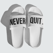 NEVERQUIT. Slides - White