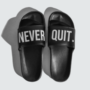 NEVERQUIT. Slides - Black