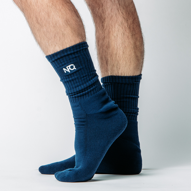 Navy NFQ Performance Socks (Pair)