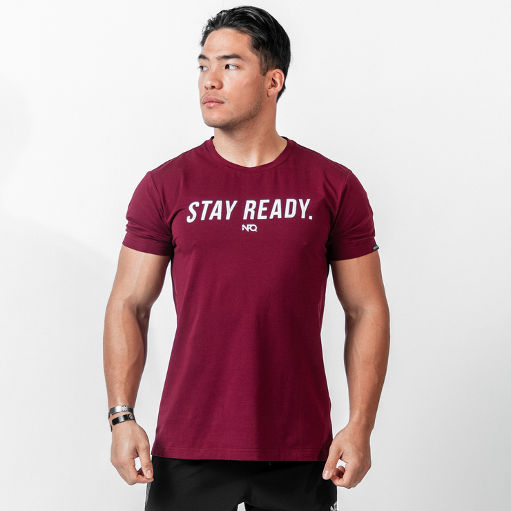 Stay Ready - Maroon/Arctic Tigertac