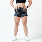 Women's Midnight Tigertac Hyper-Active Training Shorts™