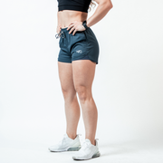 Women's Dark Slate Hyper-Active Training Shorts™