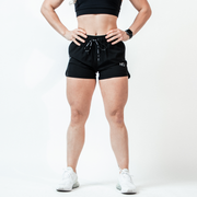 Women's Black (Operation) Hyper-Active Training Shorts™