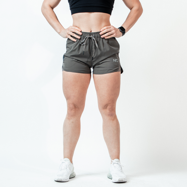 Women's Storm Grey Hyper-Active Training Shorts™