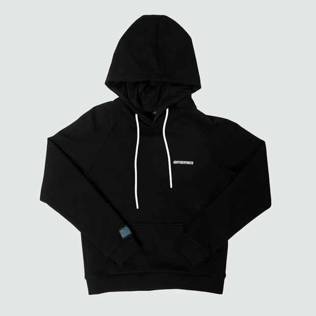 Women's A Different Breed Athletic Hoodie - Black