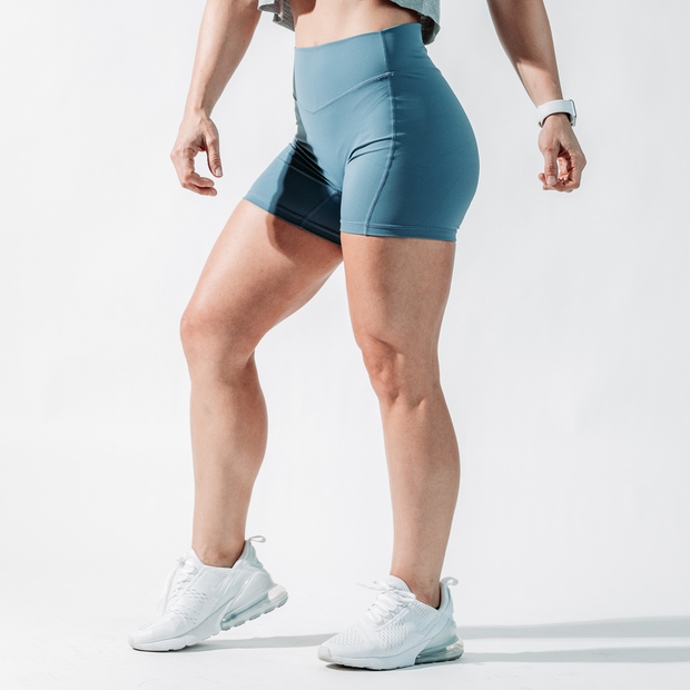 Women's Essence Shorts - Steel Blue