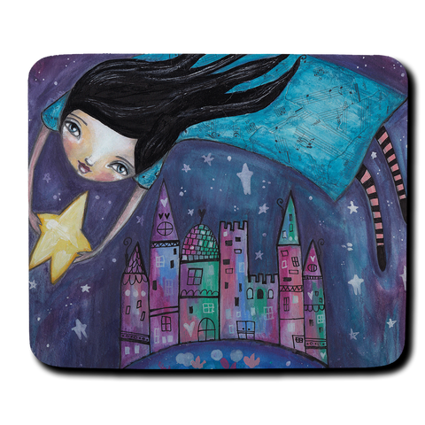 Star Flight Mouse Pad