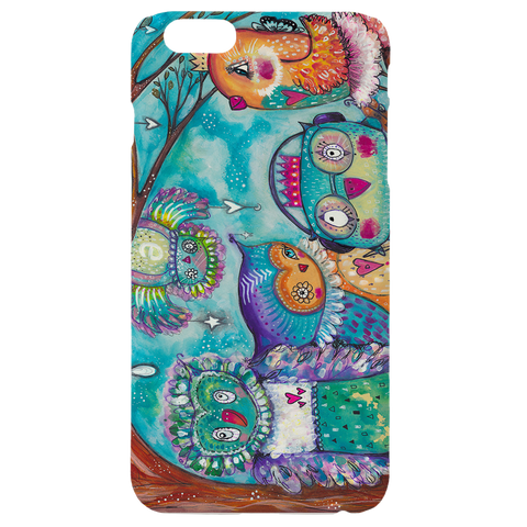 Quirky Bird Group Phone Case