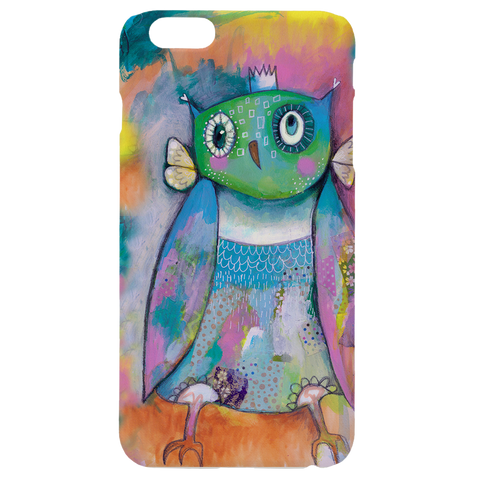 Quirky Owl Phone Case
