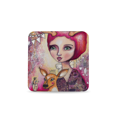 Fawn Whispers Coaster