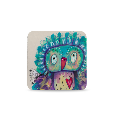 Quirky Bird Coaster