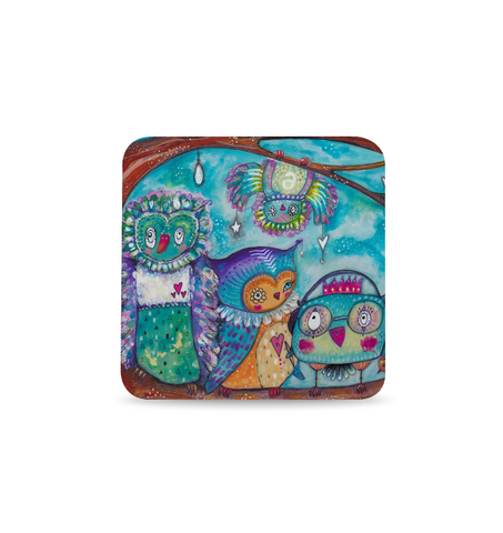 Quirky Birds Coaster