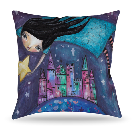 Star Flight Pillow