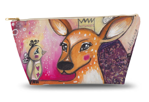 Fawn Whispers Accessory Pouch