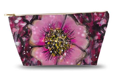 Wild Flower Accessory Pouch