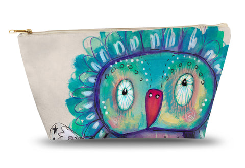 Quirky Bird Accessory Pouch