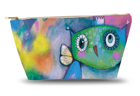 Quirky Owl Accessory Pouch