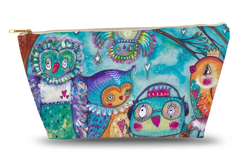 Quirky Bird Group Accessory Pouch