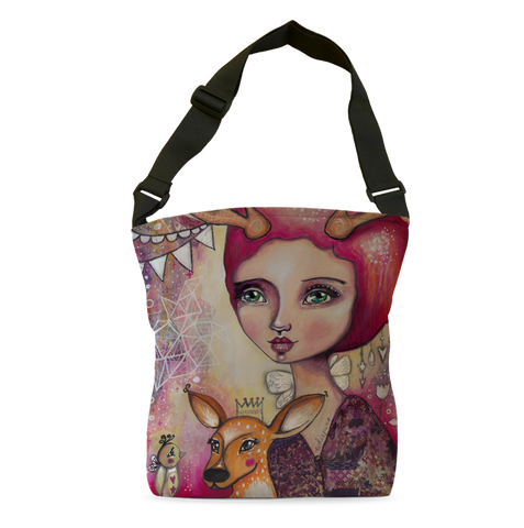 Fawn Whispers Tote Bag