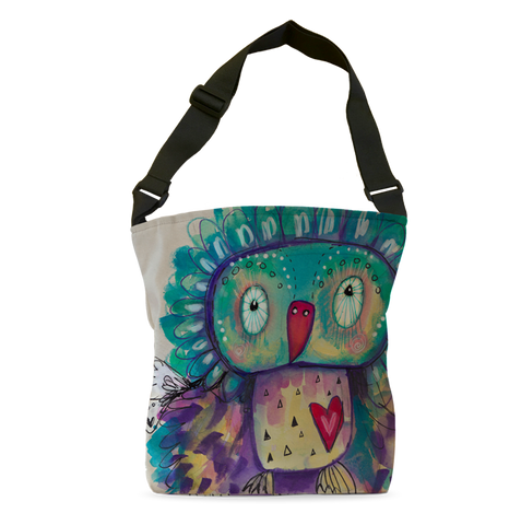 Quirky Bird Tote Bag