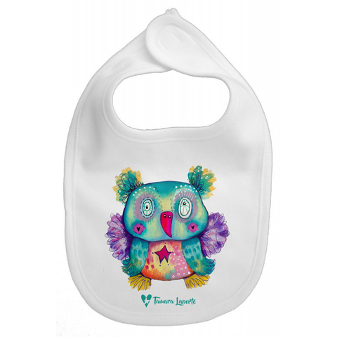 Teddy Bear Baby Bib
