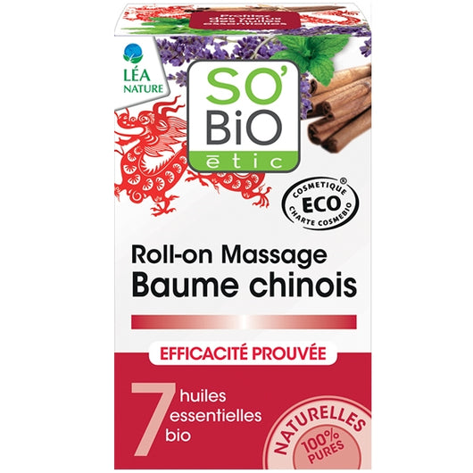 Roll-on massaggio balsamo cinese So'Bio Etic