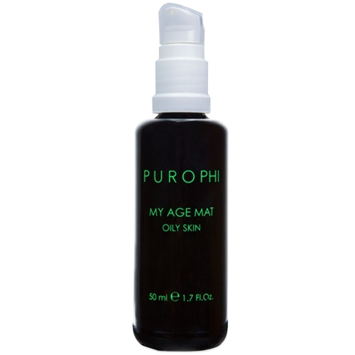 My age mat oily skin Purophi