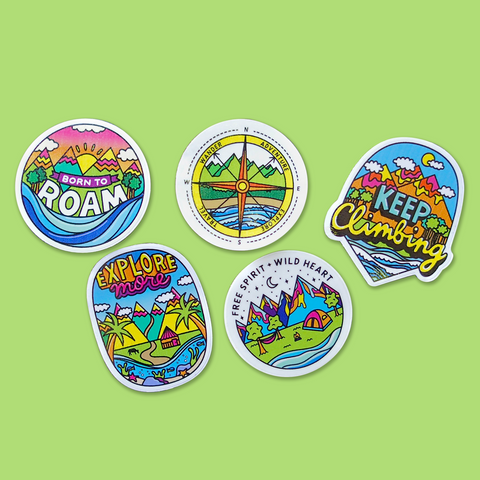 Explorer Sticker Pack