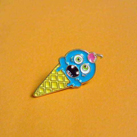 Ice Scream Soft Enamel Pin