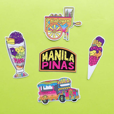 Manila Sticker Pack