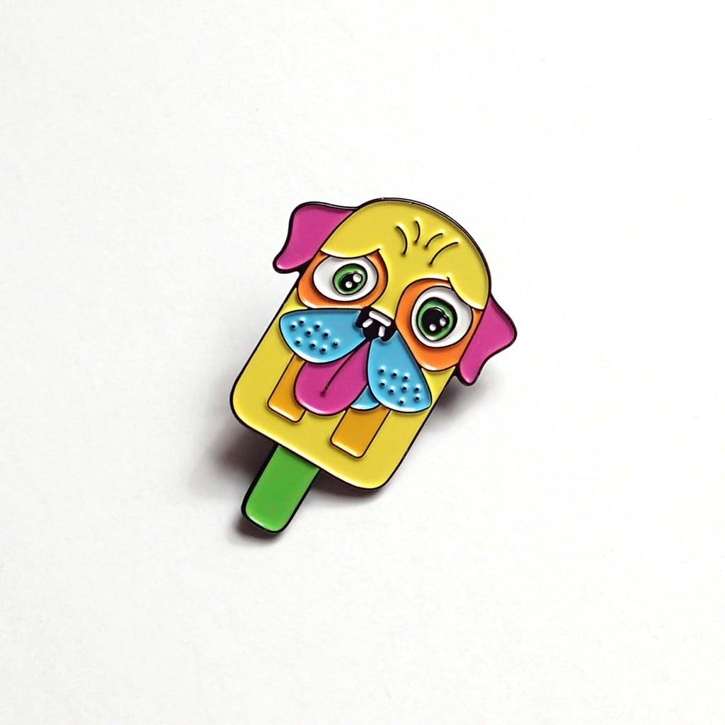 Pupsicle Soft Enamel Pin