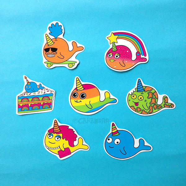 Uniwhale Sticker Pack