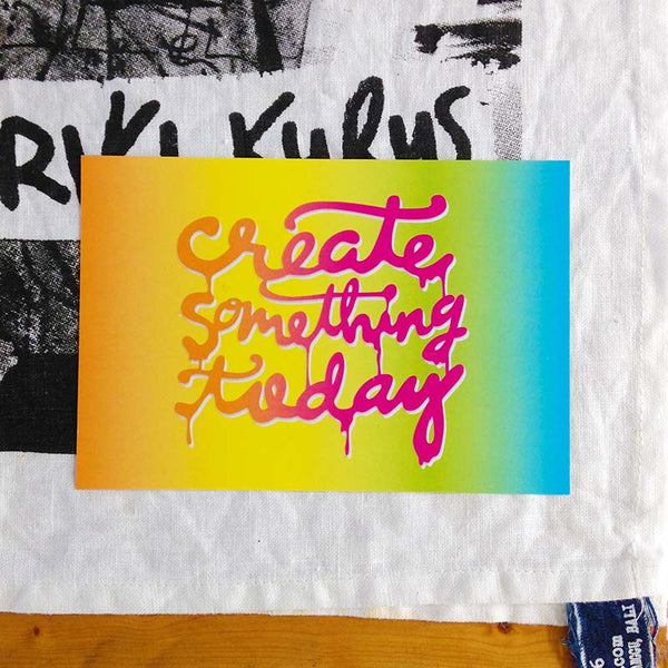 Create Something Today Postcard