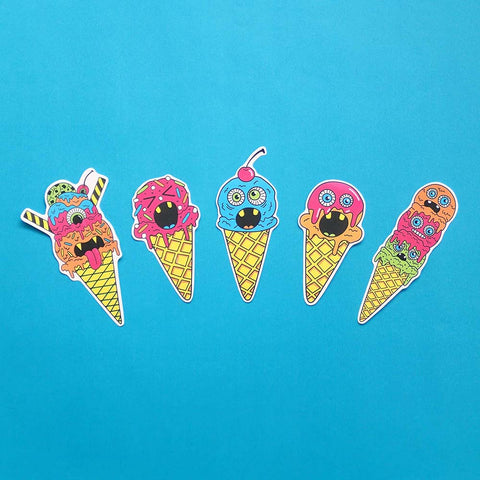 Ice Scream Sticker Pack