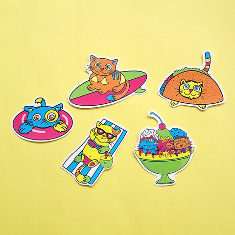 Kitty Cats Sticker Pack