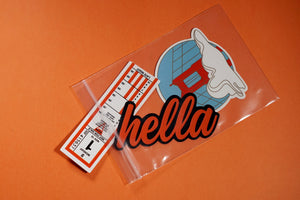 Minimalust Studio SF Native Die Cut Sticker Pack