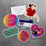 The Broad City Sticker Pack