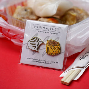 Taste Buds Series: Dim Sum Enamel Pin Set