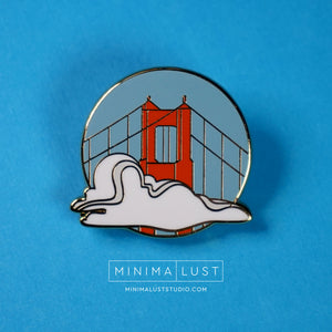Karl The Fog Enamel Pin