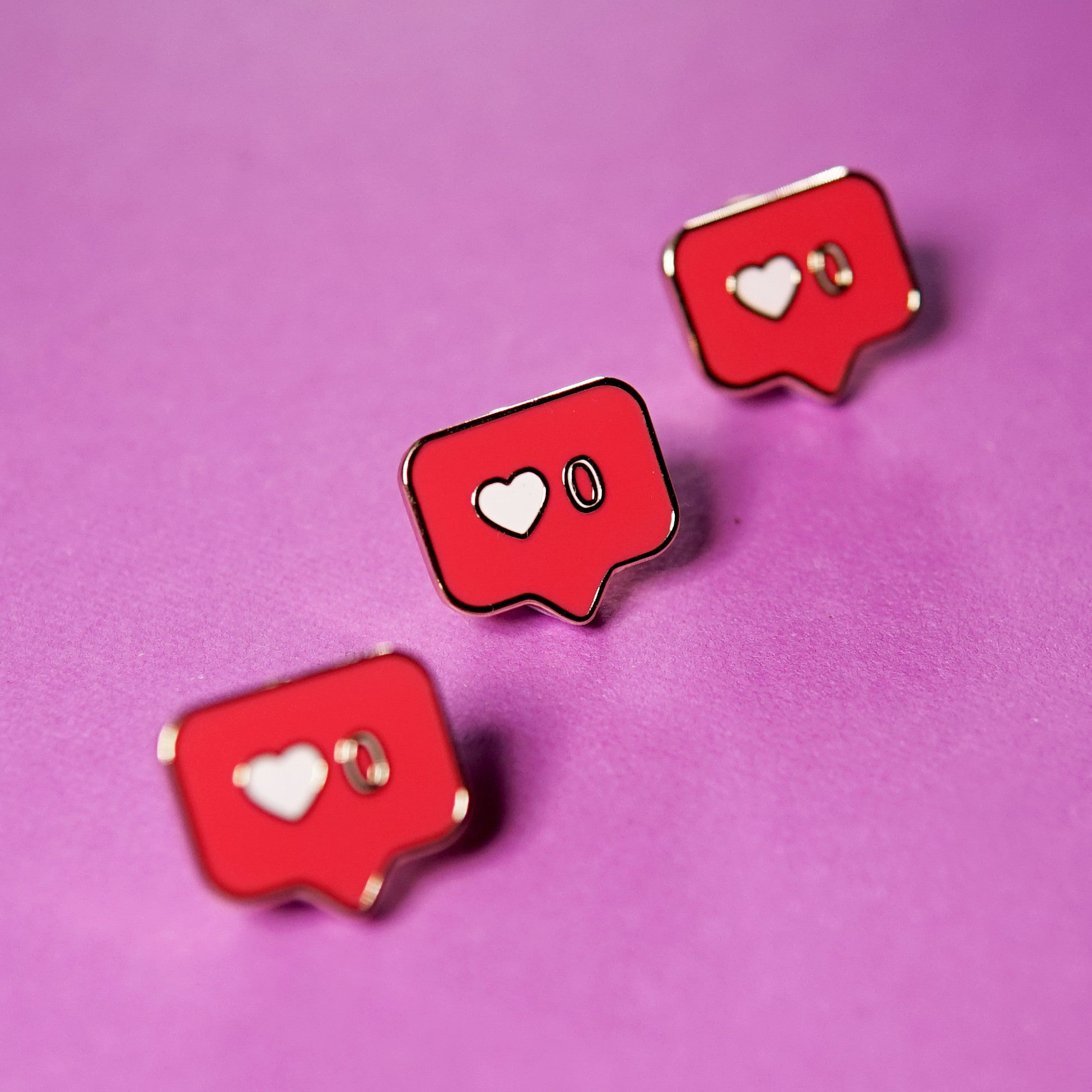 Zero Notifications Enamel Pin