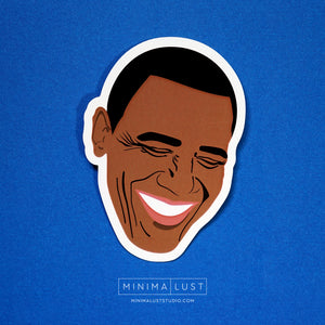 Obama Die Cut Sticker