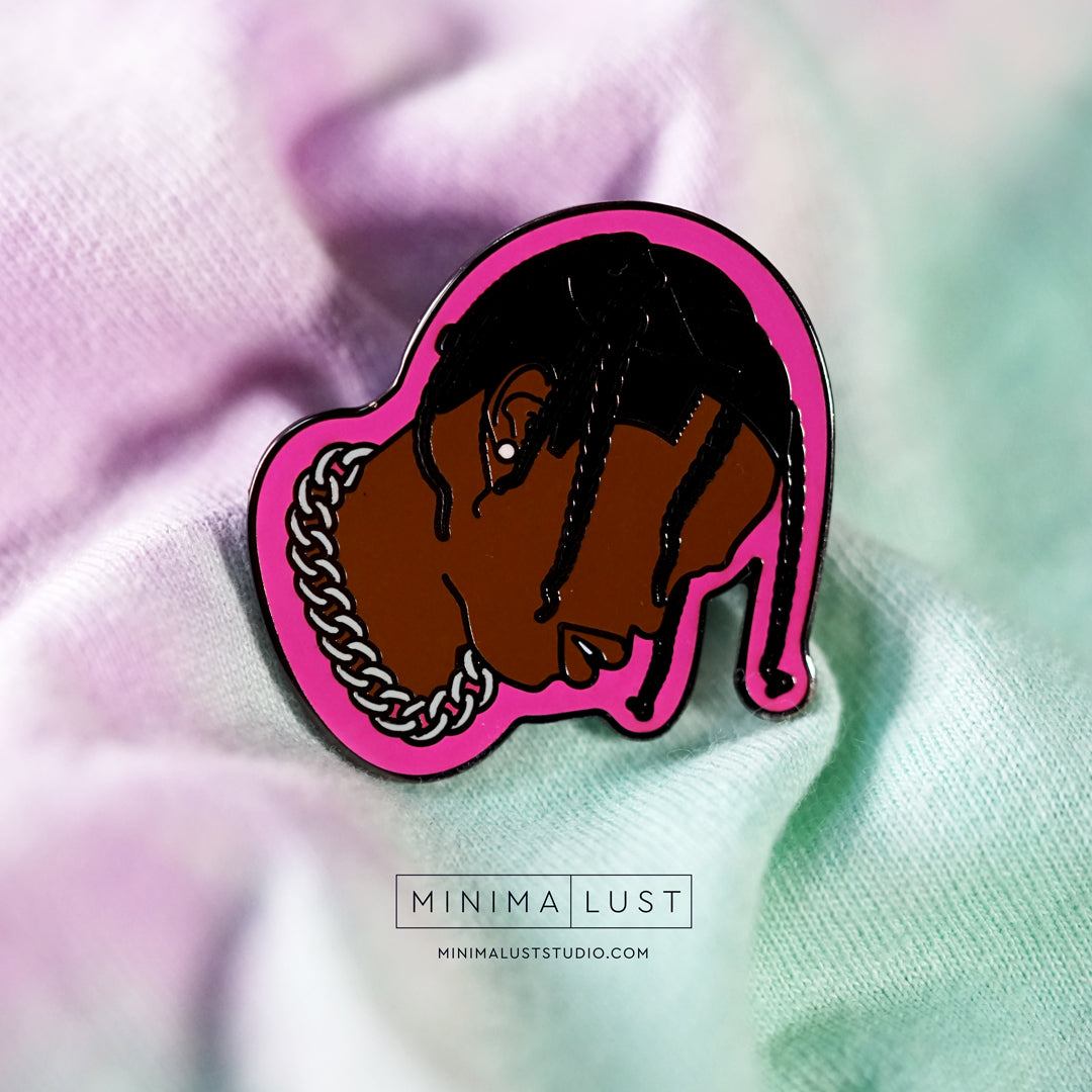 Travis Scott Enamel Pin