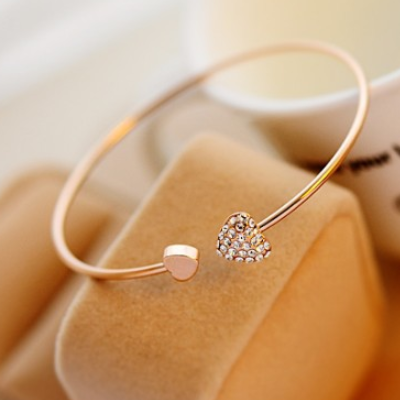 Duo Heart Bangle