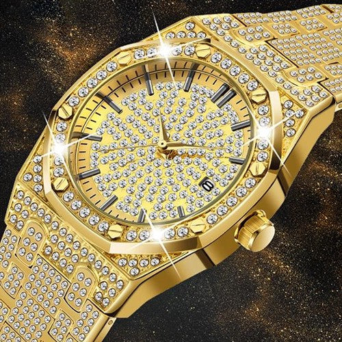 Unisex Iced Out Watch