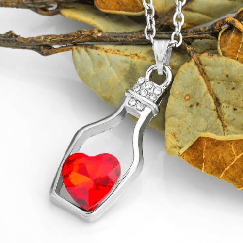 Love in a Bottle Necklace