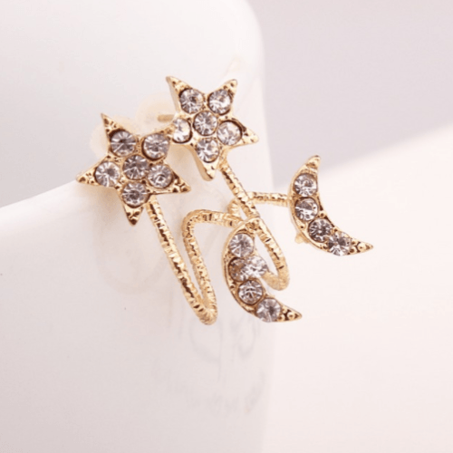 Crystal Moonstar Earrings