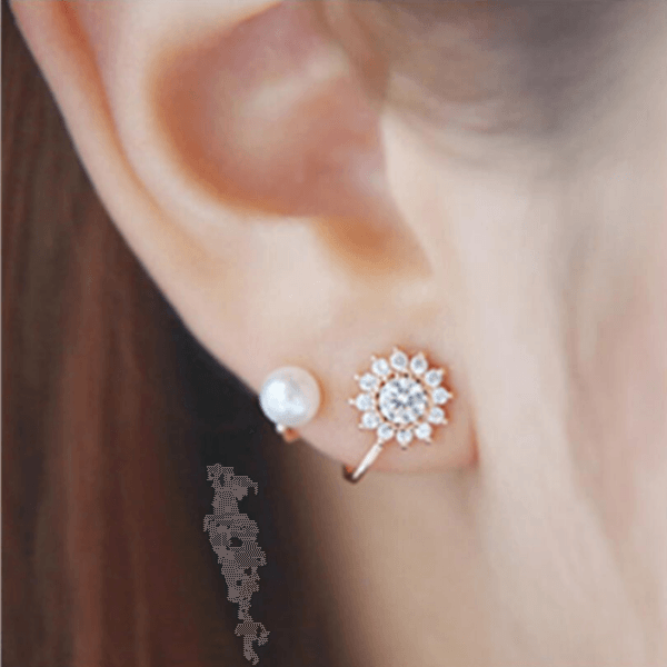 Flake Earrings