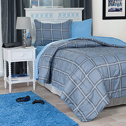 TWIN SIZED 21-piece KIDS Bedroom & Bathroom Comforter Towels Set and More-Algoma