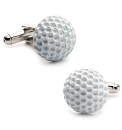 ENAMEL GOLF BALL CUFFLINKS - Algoma
