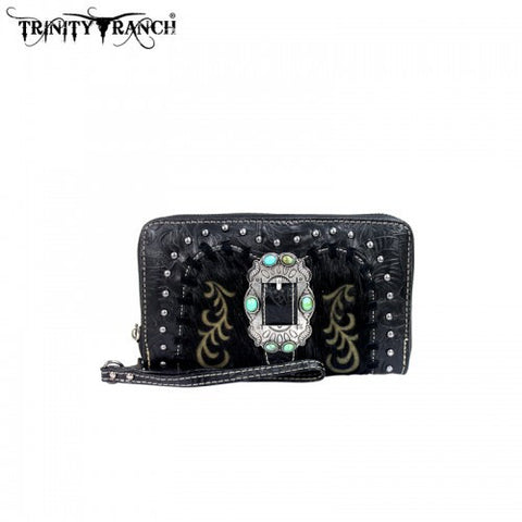 Montana West Trinity Ranch Buckle Collection Wallet